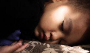 Bebé durmiendo tranquilamente