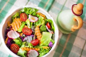 Ensalada de comida sana